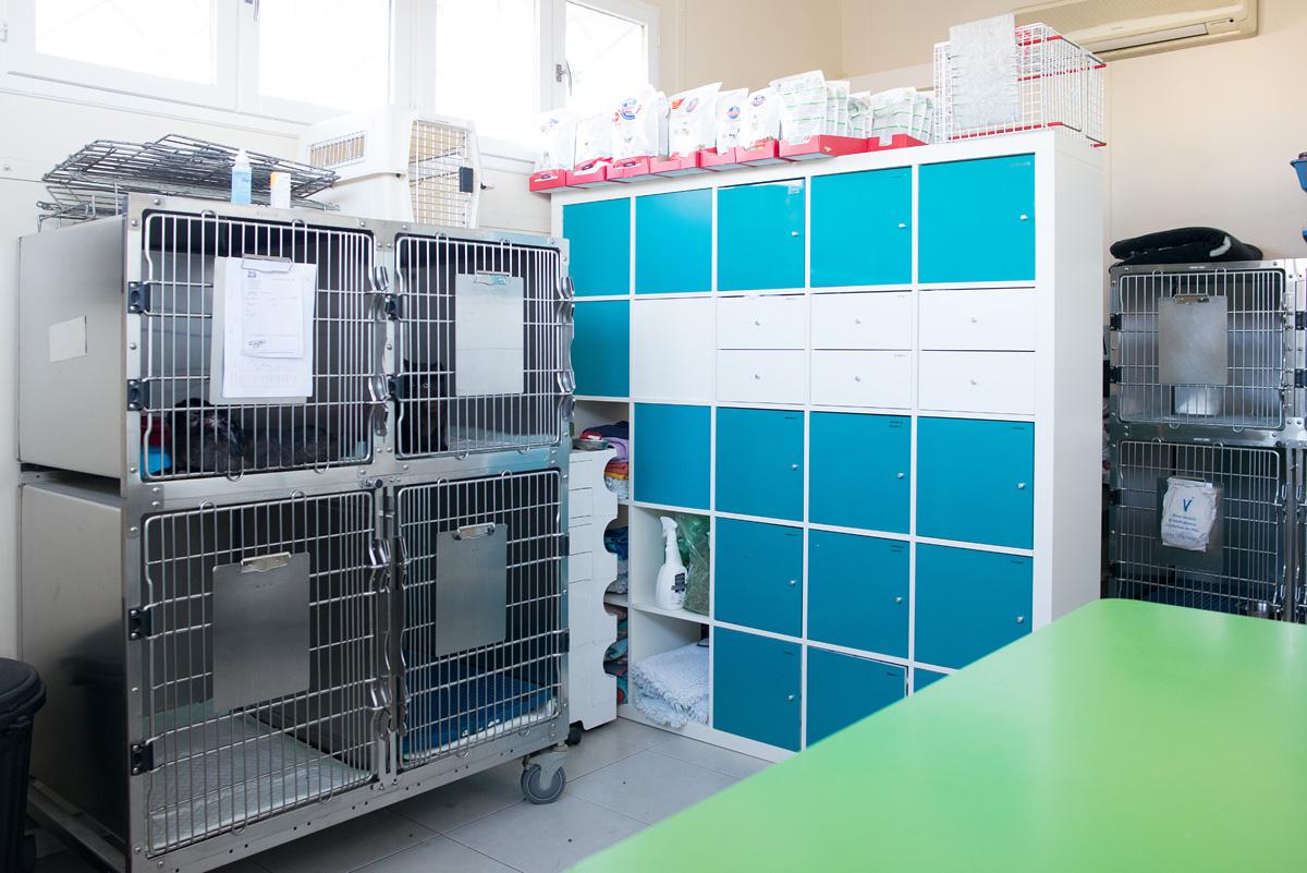 L'espace d'hospitalisation